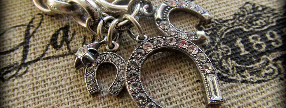 Lucky In Paris Horse Shoe Bracelet