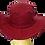 Thumbnail: REF.10 - Chapéu Vinho sem Adereços