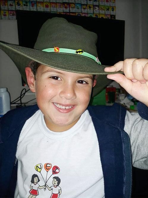 REF.12 – Chapéu Infantil Super-Herois