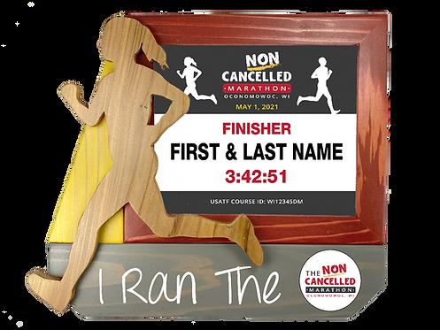 Non-Cancelled Marathon Finisher Frame
