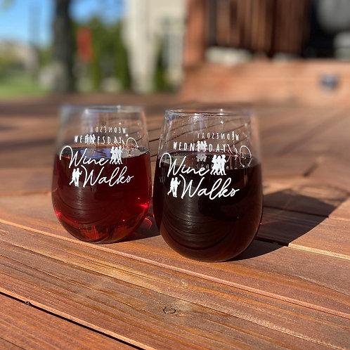 Wednesday Wine Walk Wine Glasses