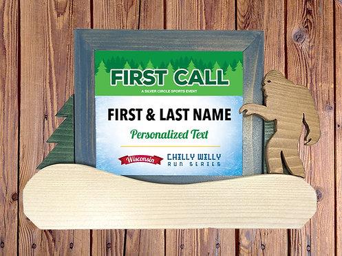 First Call 5K/10K/Half Marathon Frame