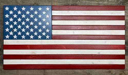 American Flag (Reclaimed Wood)