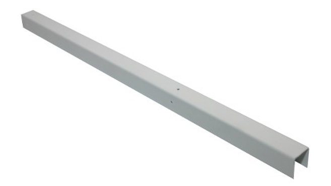 U Channel/Shaft Profile, White