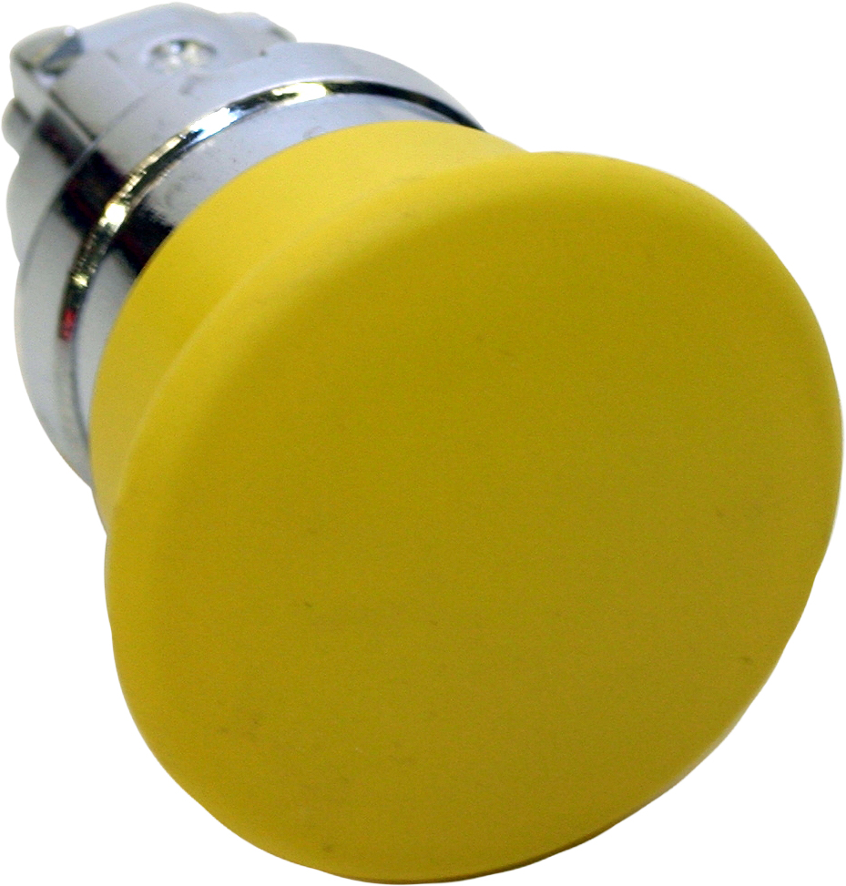 Yellow Push Button