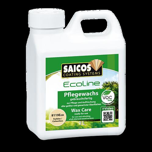 Saicos Ecoline Pflegewachs 8119 Eco Farblos