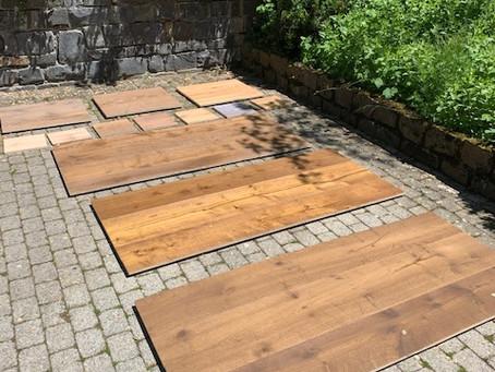 Bemusterung von Schober Holzboden Dielen