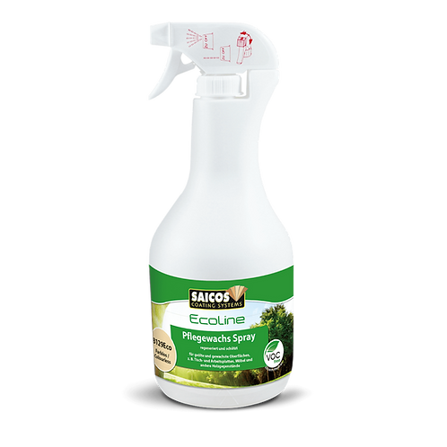 Saicos Ecoline Pflegewachs 8129 Eco Spray