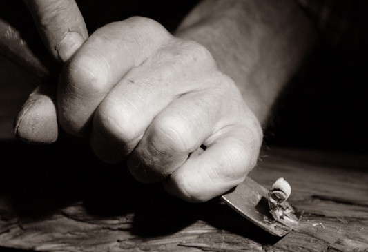 Manufaktur Schober Dielen Handschroppen