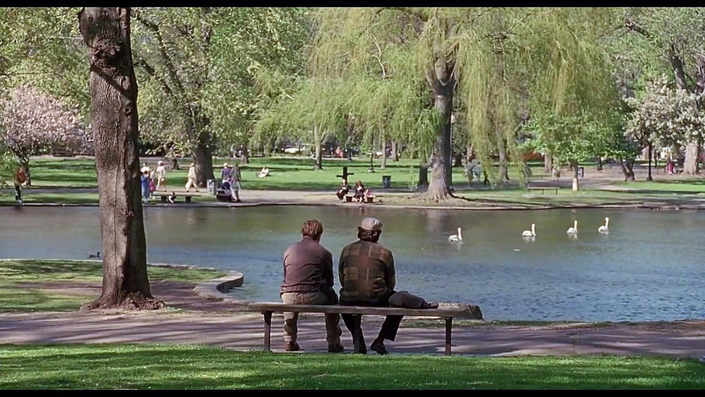 Taster's Choice moment Good Will Hunting