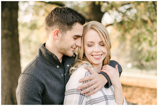 HAYLEY & JON | A FALL, VALLEY FORGE NATIONAL PARK ENGAGEMENT SESSION