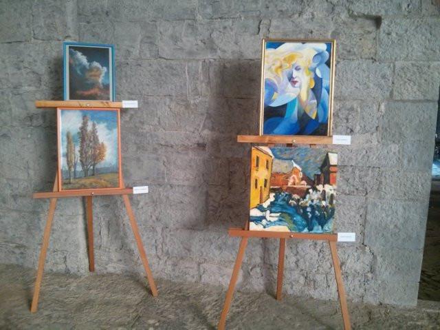 Mostra di pittura Sotto lo stesso cielo