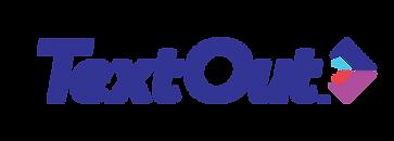 TextOut logo for peer to peer texting sotware