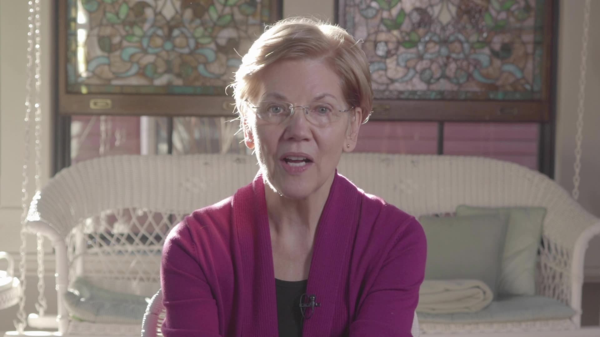 Sen. Elizabeth Warren supports Vote Mama