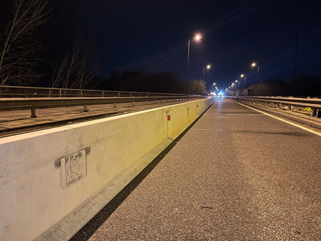 Volker Highways collaborate with Highway Care for Queen Elizabeth Bridge repairs
