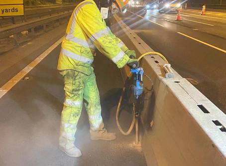 A2 Bean and Ebbsfleet junction improvements underway
