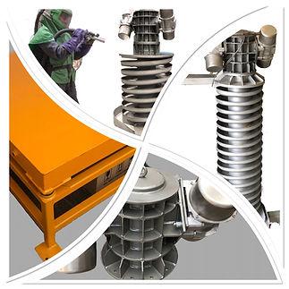 Vibrating Equipments, Spiral Elevator, Spiral Elevators, Vibratory Spiral Elevators, Vibrating Spiral Elevators, Spiral Elevators Ltd