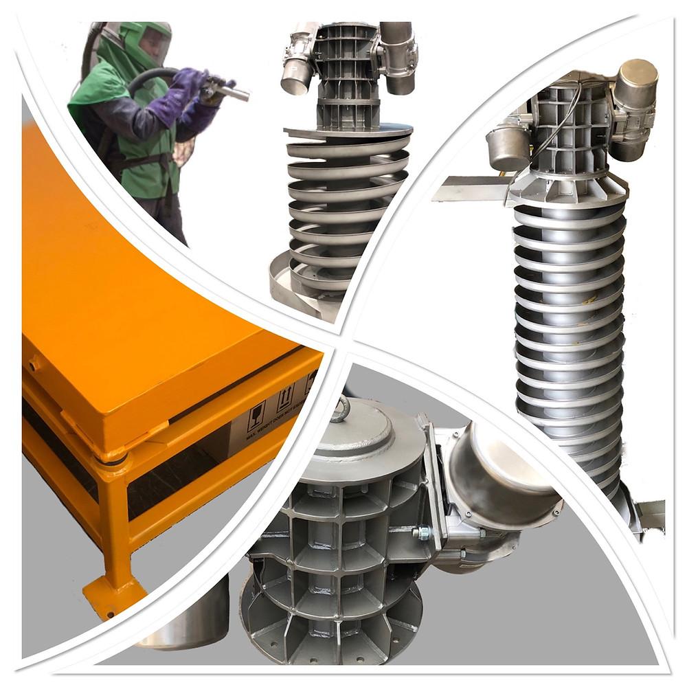 ZilliVibro Ultra Slim Vibrating Spiral Elevators, spiral elevators, vibratory spiral elevators