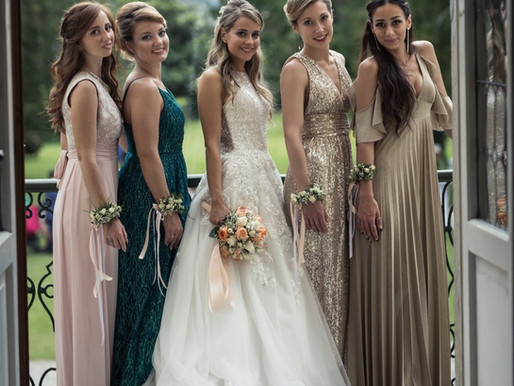 Le damigelle e le invitate al matrimonio: in&out
