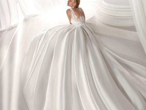 I tessuti degli abiti da sposa dalla A alla Z