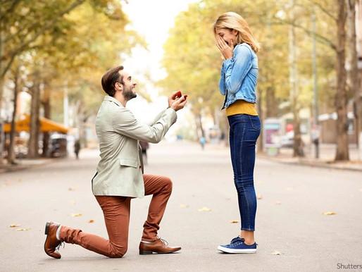 Le proposte di matrimonio. Nuovo trend