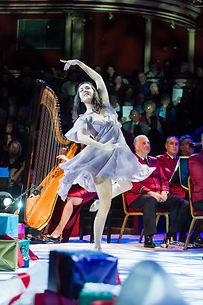 Alison Blackhall Harp Royal Albert Hall