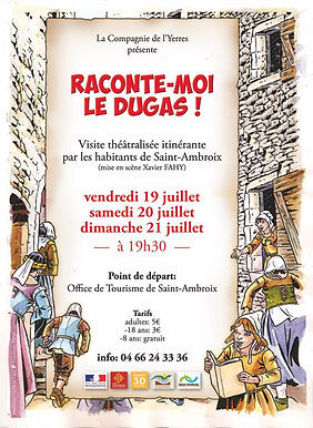 AAACY - Raconte-moi le Dugas! - affiche.