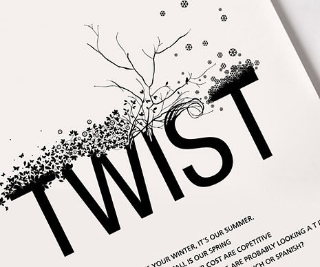 Twist illustration