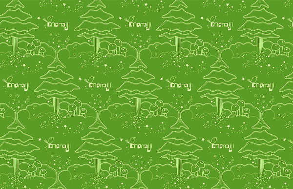 Momiji -- christmas wrapping paper