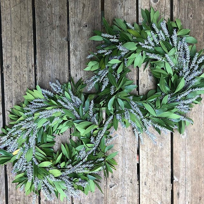 Bay and Lavender Wreaths