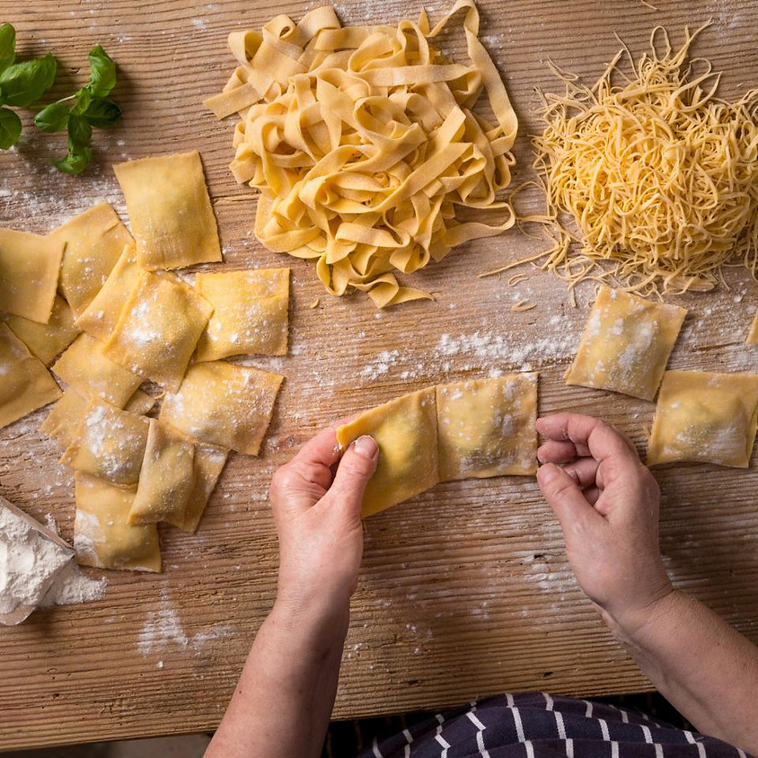 Pasta Making Class with Chef KC of Culinary Laboratories