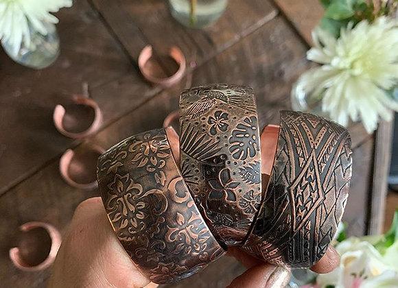 Heavy Gauge Copper Cuff