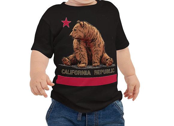 CA Flag - Baby Jersey Short Sleeve Tee
