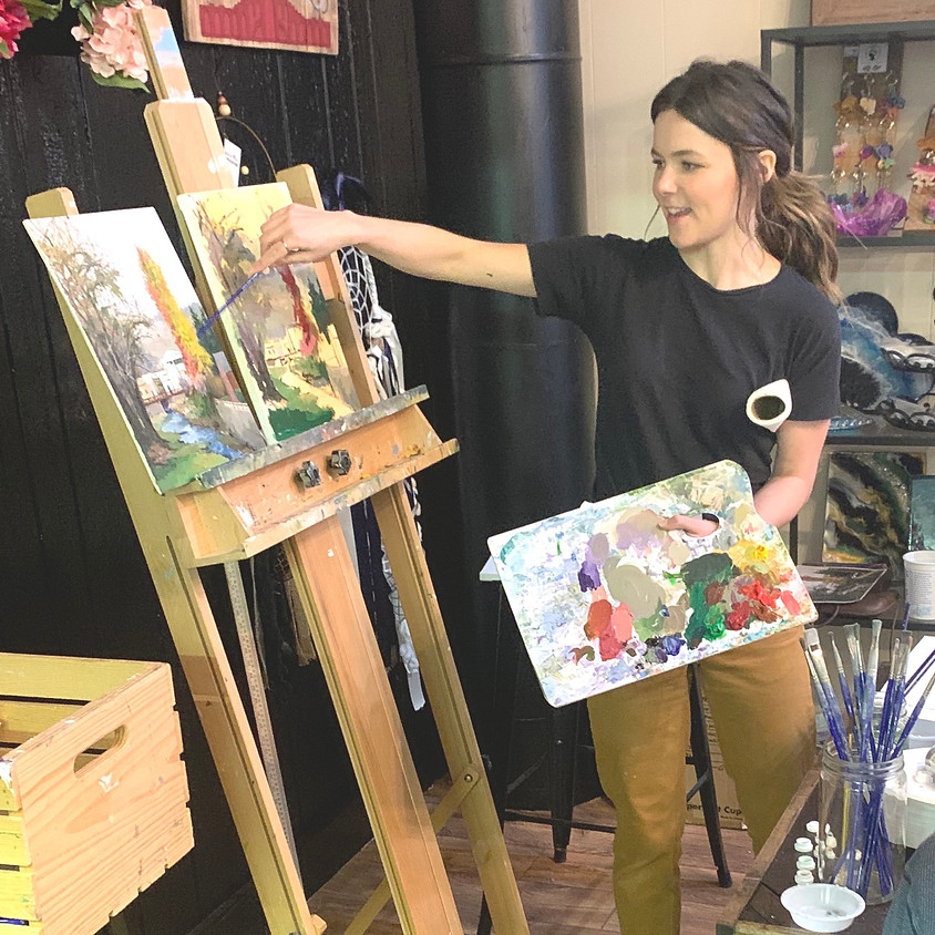 Painting with Lexie - Poppy Special