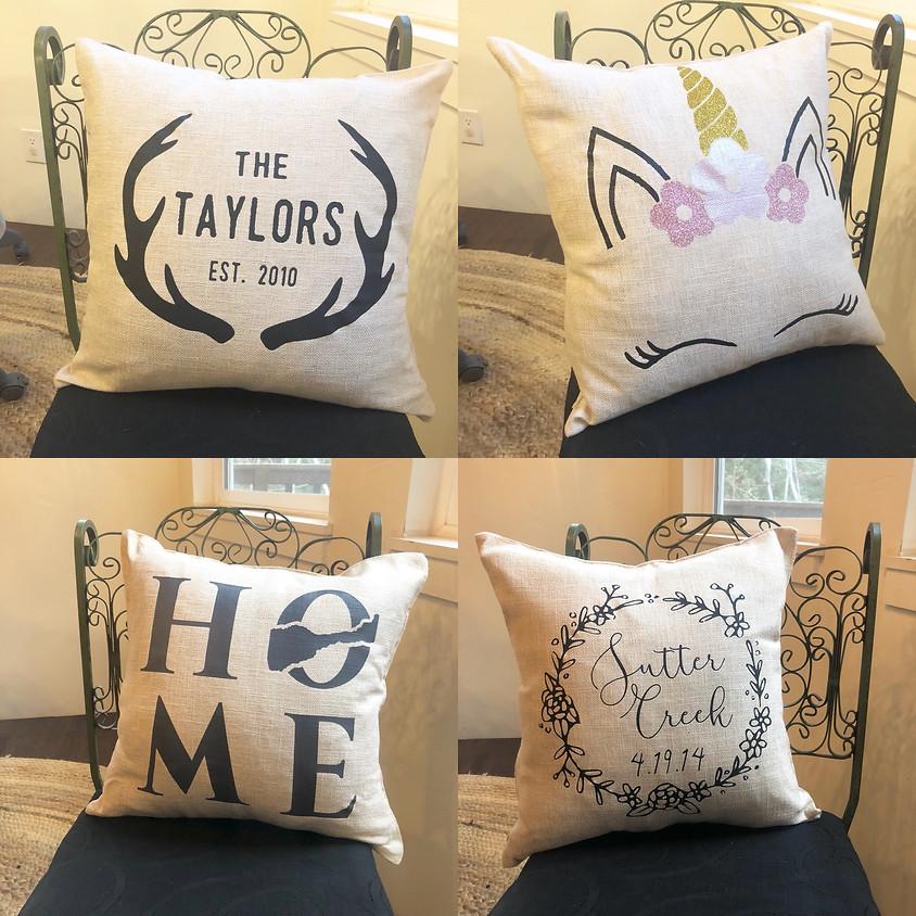 Custom Pillow Set Class