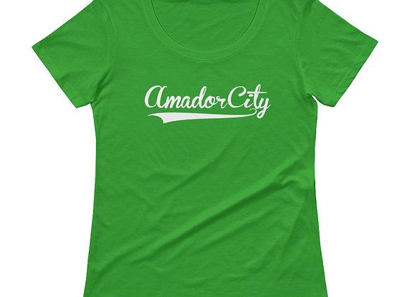 Amador City - Ladies' Scoopneck T-Shirt