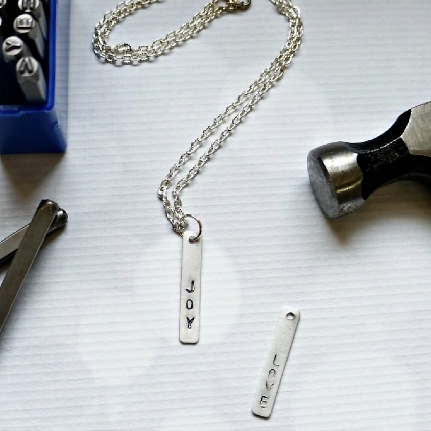 Mini Makers: Stamped Necklace/Key Chain