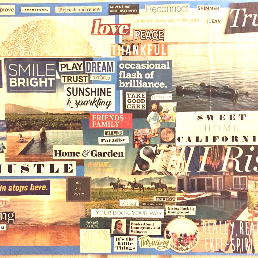 New Year Vision Boards