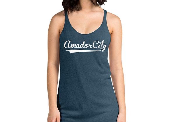 Amador City - Women's Racerback Tank