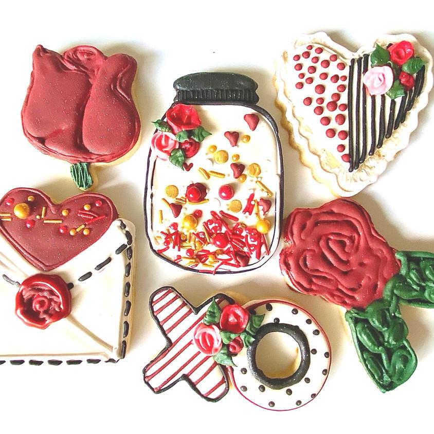Valentines Cookie Decorating