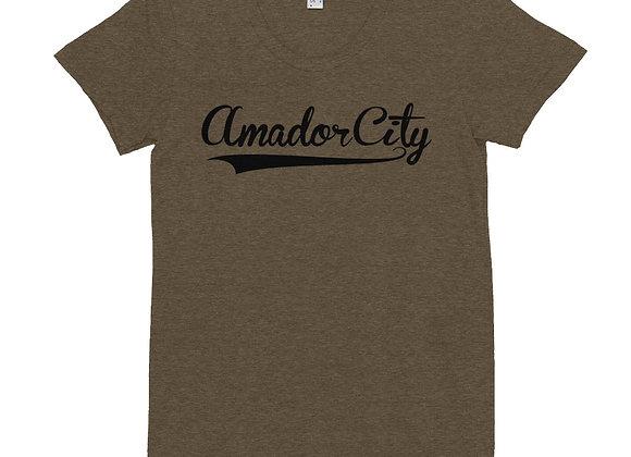 Amador City - Women's Crew Neck T-shirt