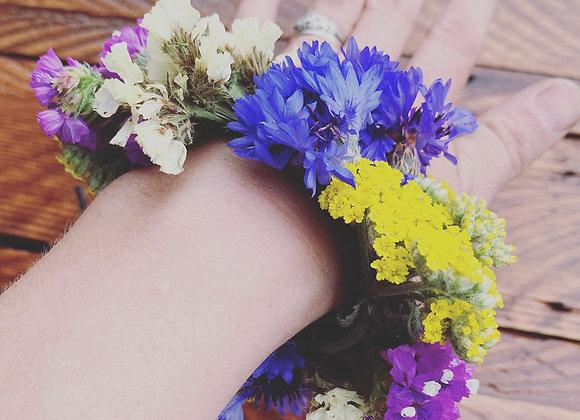 Graduation Flower Bracelet