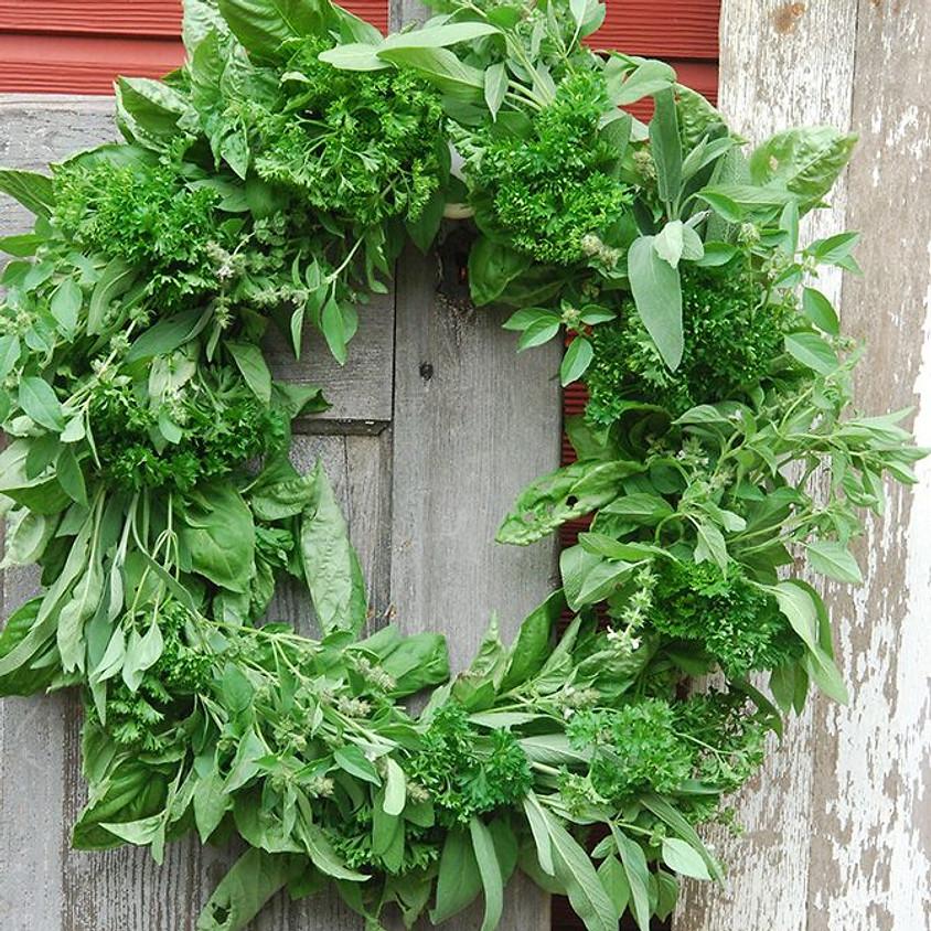 Culinary Herb Wreath Class