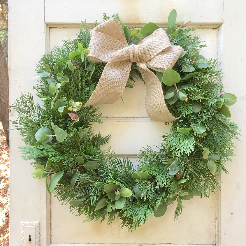 12/1 Holiday Wreaths at Made In Amador