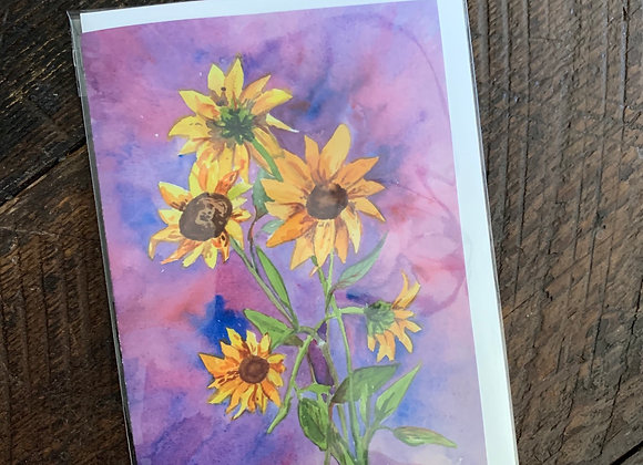 Watercolor Cards: Floral