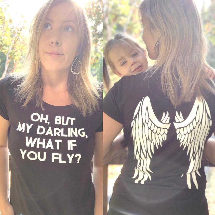 Cricut Class: Wings Shirt