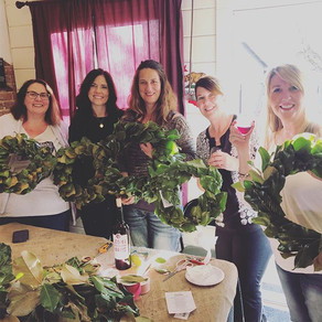 Wreaths and Wine in Sutter Creek