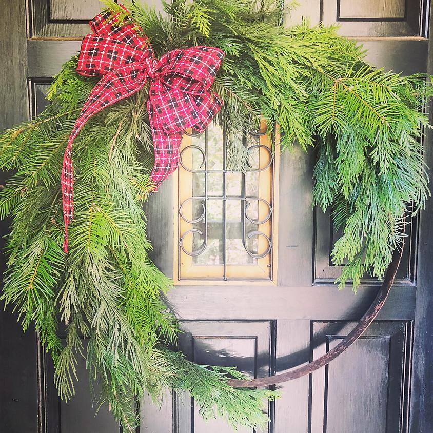 Wine Barrel Ring Wreath Class