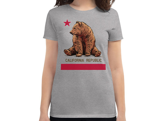 CA Flag - Women's short sleeve t-shirt