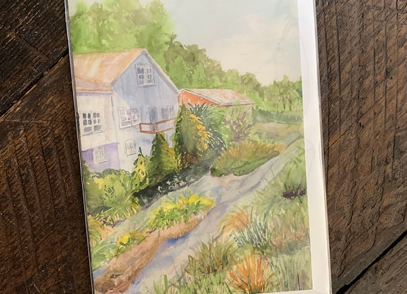 Watercolor Cards: Scenery